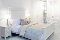Белая кровать в стиле прованс